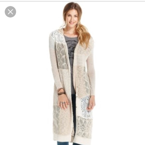 d61a4ecfb4a Free People Sweaters - 🌻Free People Magic Dragon Patchwork Duster